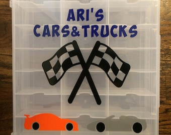 Personalized Toy Car Carrier
