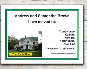 Personalised Change of Address Cards Design 80