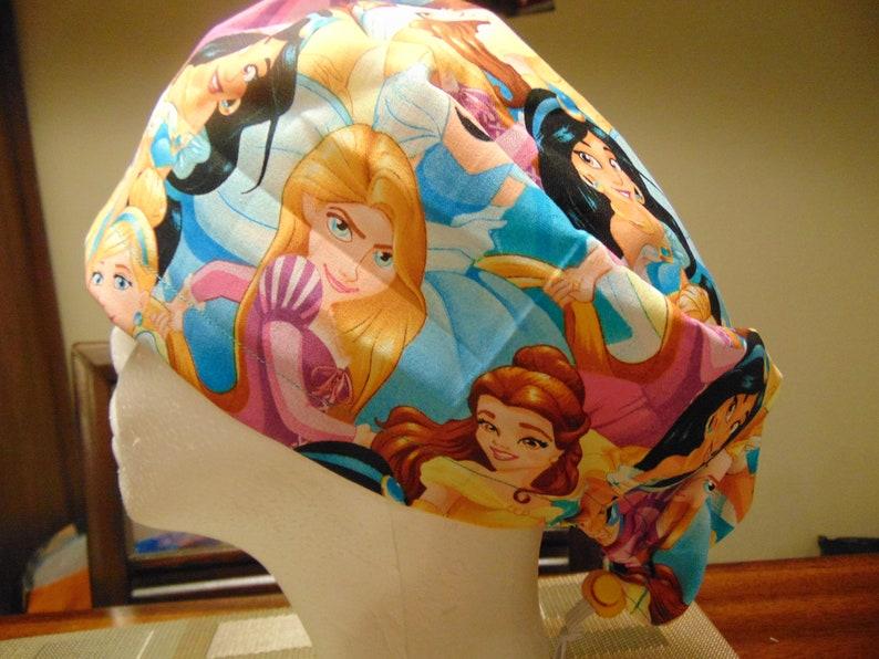 Disney Princesses European style scrub hat