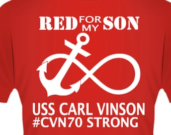 Red for my son, daughter, hubby, wife, sister, brother, etc