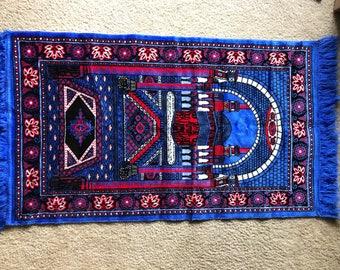 Beautiful vintage prayer rug