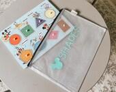 Toy storage bags, Montessori, Toy Chest, Jigsaw Puzzle, Kids organizing, Playroom Storage, Toy Box Storage, Kids Storage Pouch