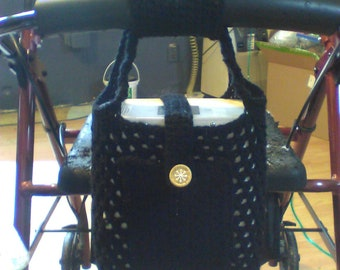 Made to Order Walker Tote for Portable Oxygen Concentrator