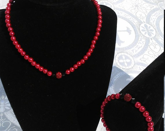 Volianne ( Dark Rose) Gem Set
