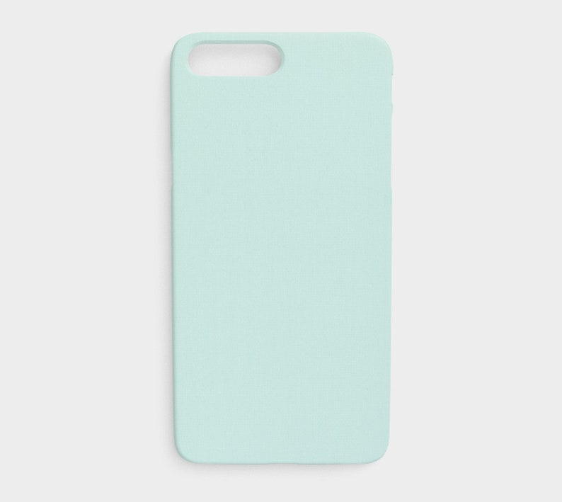new concept a4374 9bf65 Pastel Blue Phone Case, Light Teal Phone Case, Solid Blue Case, Blue  Protective Phone Case for the Apple iPhone and Samsung Galaxy Devices