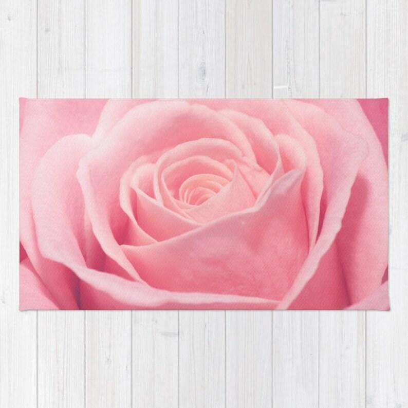 Rosa Rose Teppich erröten rosa Kinderzimmer Teppich Rosa | Etsy
