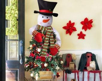 Snowman Christmas Tree Topper Tree Topper