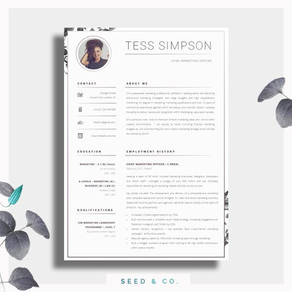 CV Template | Creative Resume Template | Two Page Professional CV + Cover  Letter + Advice | Printable for Word | The "|570|569|?|False|64c97ab212b4226047fbe7caf4006723|False|UNLIKELY|0.36218157410621643