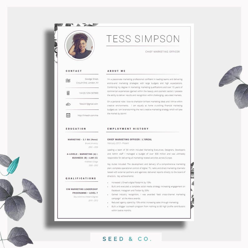 CV Template | Creative Resume Template | Two Page Professional CV + Cover  Letter + Advice | Printable for Word | The "|794|793|?|en|2|ca7f48d5a369bdb98bbc2c6a2cdea48e|False|UNLIKELY|0.3762049078941345