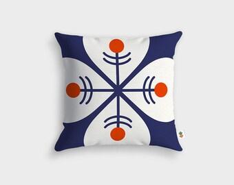 LUCKY Scandinavian cushion - Made in France - 45 x 45 cm