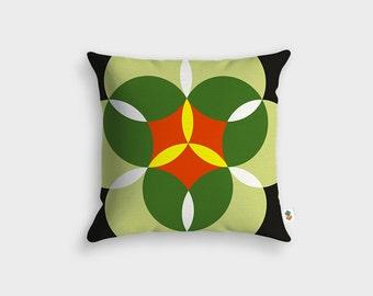 NENUPHARE Scandinavian cushion - Made in France - 45 x 45 cm