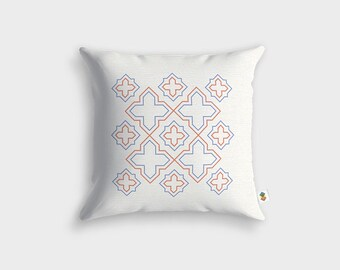 HUGUETTE Scandinavian cushion - Made in France - 45 x 45 cm