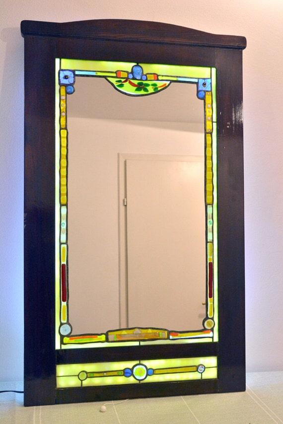 Mosaicos Vidrio Nº 3 El Espejo De Cristal Decorativo Pared Espejo