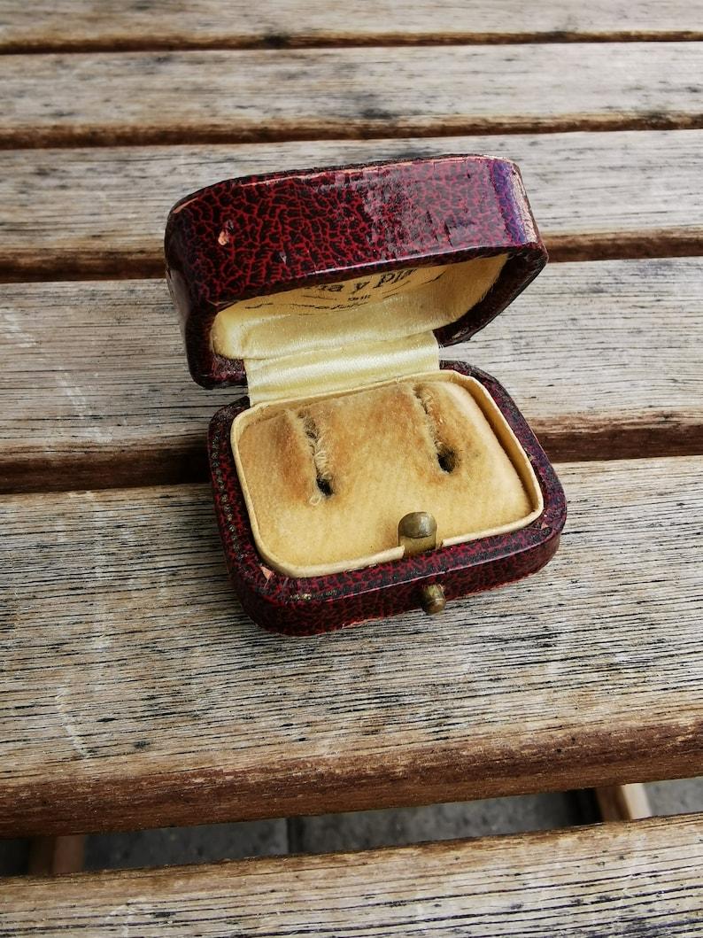 Antique Victorian Earring Case Box