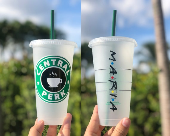Friends Starbucks Cup Friends Door Central Perk Personalized Gift Friends Inspired