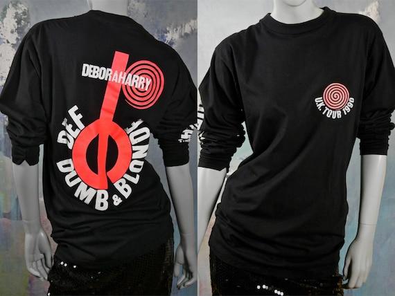 1990s Vintage Concert T-Shirt, Blondie Deborah Har