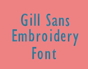 Gill sans | Etsy