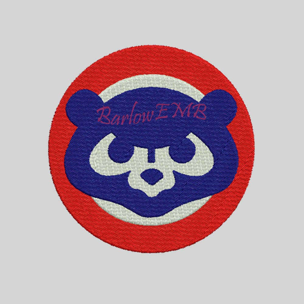 11 Size Chicago Cubs Logo Embroidery Designs Instant