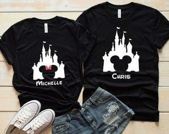 f256d650 Disney Castle - Disney Group Shirts - Disney Family Shirts - Disney Shirts  - Disney Apparel - Custom Disney Shirts - Food and Wine Shirts