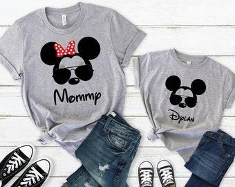 1996a1e62 Sunglasses Mickey Shirt - Disney Group Shirts - Disney Family Shirts - Disney  Shirts - Disney Apparel - Custom Disney Shirts - Cool Mickey