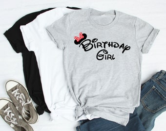 Disney Birthday Shirt