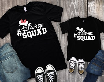 ecc3dbb90 Disney Squad Shirt - Disney Family Shirts - Disney Group Shirts - Disney  Sunglasses Shirt - Family Disney Shirts - Group Shirts