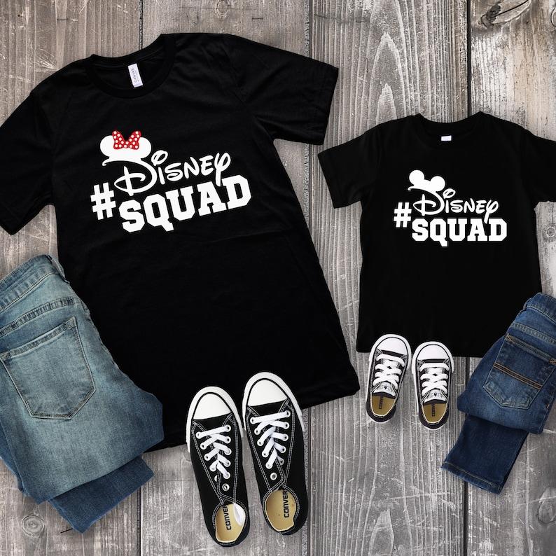 3bc96e86 Disney Squad Shirt Disney Family Shirts Disney Group | Etsy