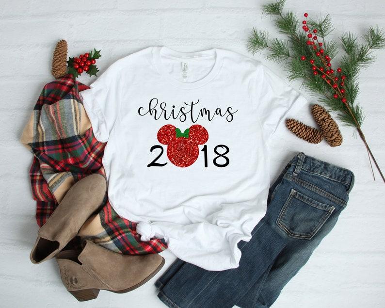 8cfbbce0 Disney 2018 Christmas Disney Family Shirts Disney Group | Etsy