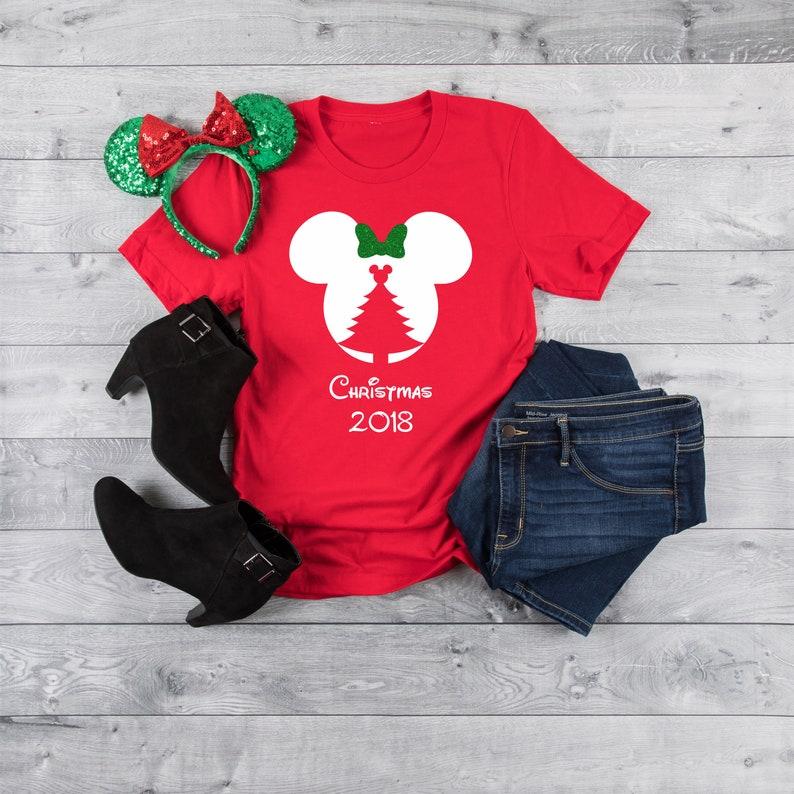 be43e38b Disney Christmas Tree Disney Family Shirts Disney Group | Etsy