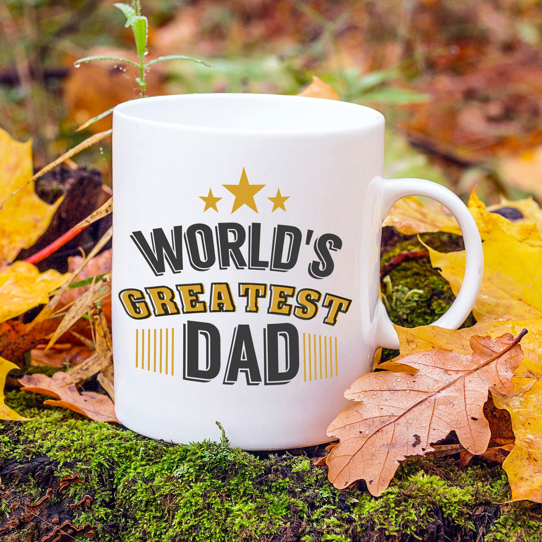 Welten größte Papa Becher Vatertagsgeschenk Papa Geburtstag | Etsy