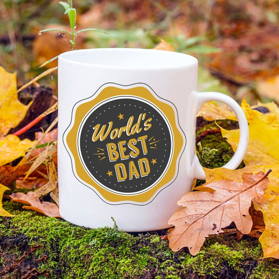 Worlds Best Dad Fathers Day Gift Daddy Birthday