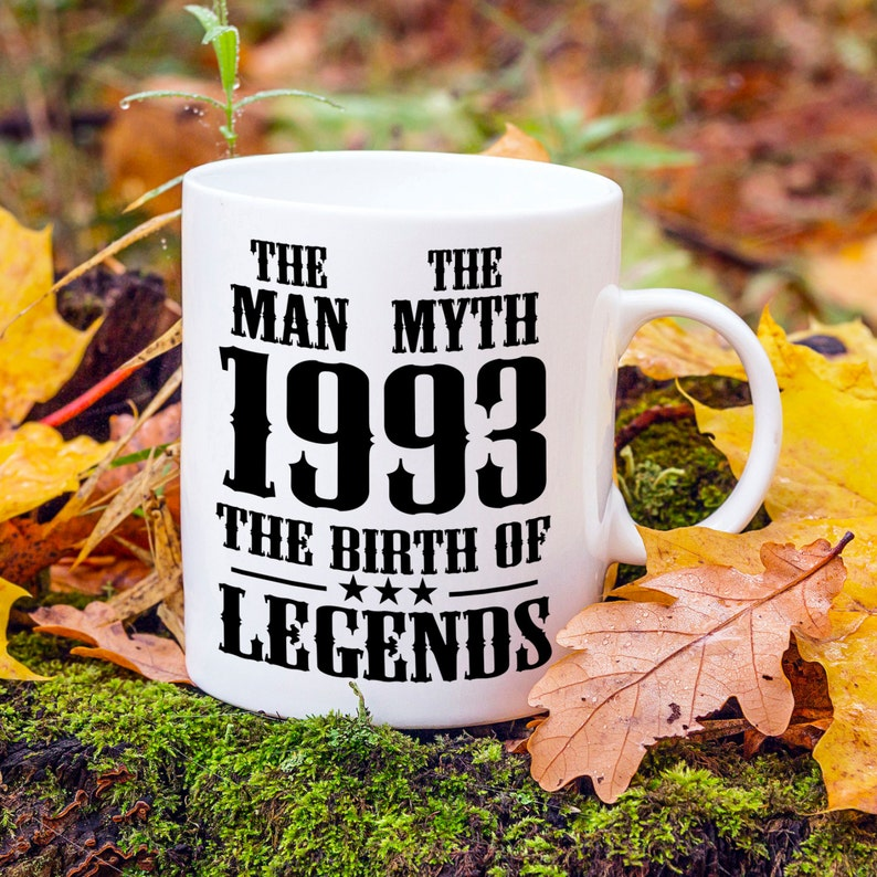 Born In 1993 24th Birthday Present Mens Gift