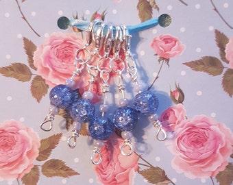 5 Handmade Crochet stitch markers