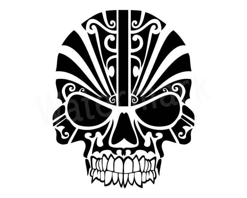Tribal Mask Svg Maska Sylwetka Clipart Czaszka Tribal Mask Kalkomania Tribal Maska Tatuaż Tribal Skull Sylwetka Czaszka Maska Instant Download