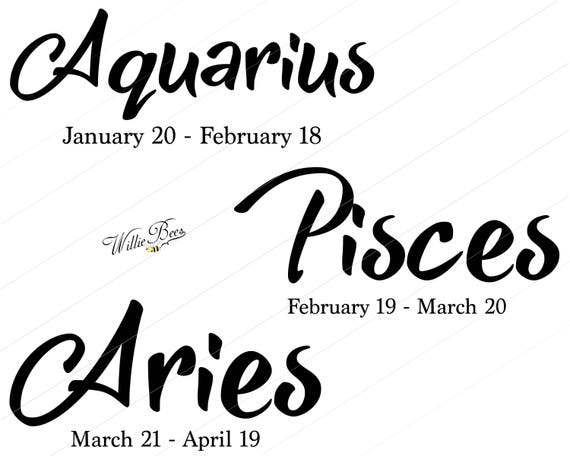 zodiac sign svg astrological signs astrology horoscope svg etsy Food Cars Birthday Sign image