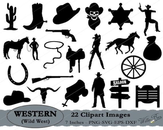 0a7f1b30484 Wild West SVG Western Clipart Cowboy SVG Cowgirl Svg