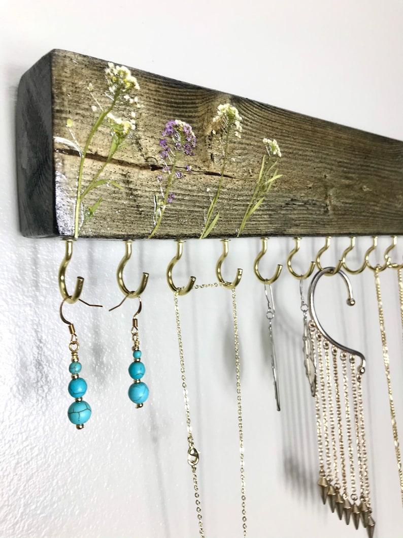 Jewelry Display Necklace Display Jewelry Organizer Jewelry Gifts E Necklace Organizer Wall Mount Jewelry Holder Jewelry Holder