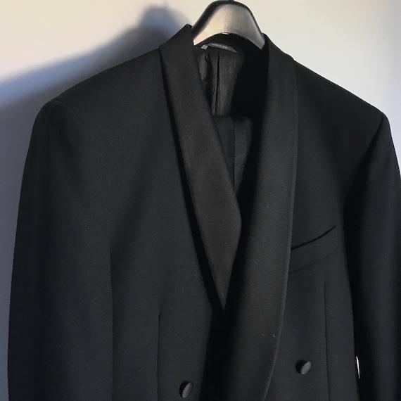 925769891a5d6 Yves Saint Laurent 40 Black Men s Tuxedo 80 s Italy 2