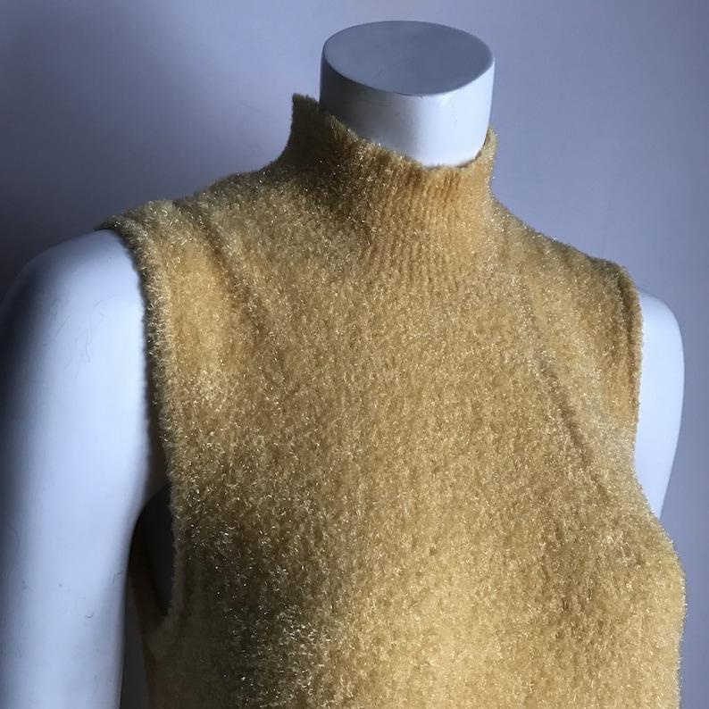 6007fcff784ca Cher Horowitz's Thyme Maternity S Yellow Fluffy Fuzzy | Etsy