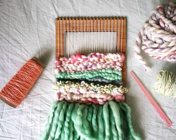 MADE TO ORDER Small Custom Woven Wall Hanging