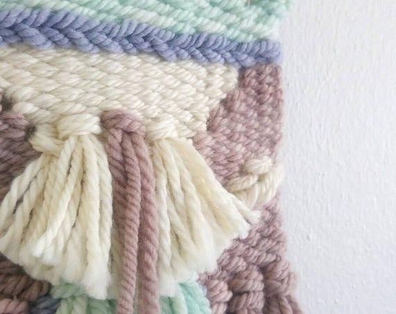 'DAPHNE' Mini Woven Wall Hanging