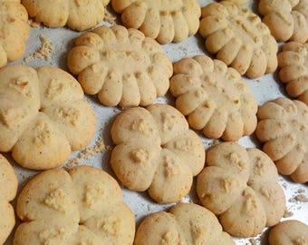 Vegan Vanilla Spritz Cookies Gluten Free