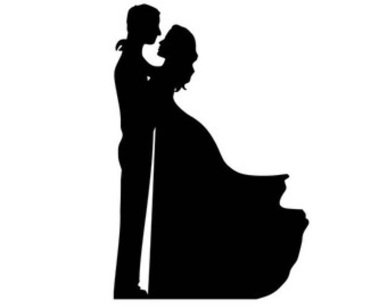 Жених и невеста шаблоны для вырезания, гифки животные