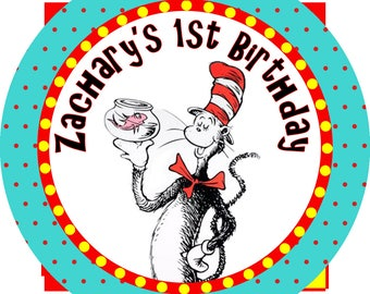 Cat in the Hat Popcorn Bags (set of 25)