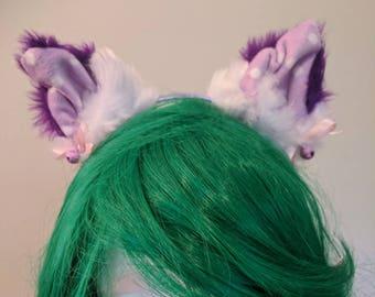 Cute Fluffy Cosplay Kitten/ Cat Ears