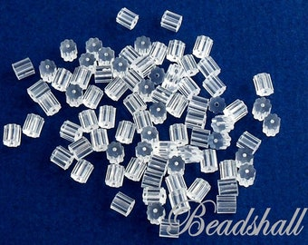 150 Stopper Silicone 3 mm for earrings