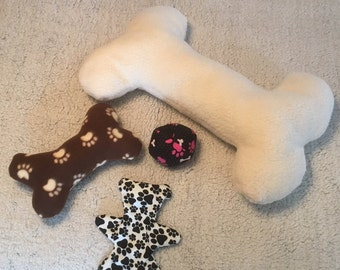 Dog Toys with Squeakers (Homemade)