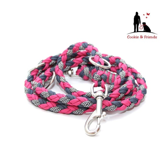various carabiners and lengths selectable Paracord leash adjustable