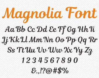 Svg Font SVG fonts wedding handwritten Cursive Font SVG, Brush Font, Retro Font ,Alphabet Font Svg, Silhouette, svg files for cricut font