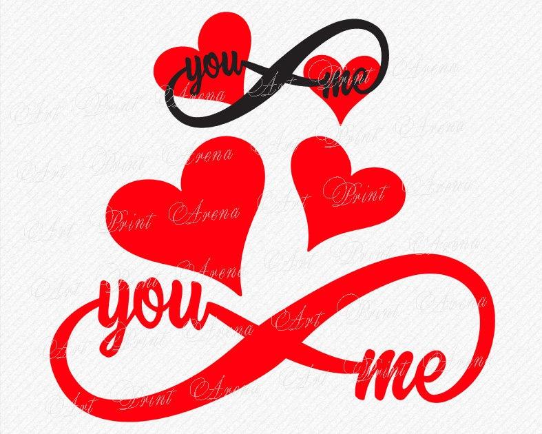 Download Wedding svg Valentines SVG Y & Me SVG You and Me SVG Love ...